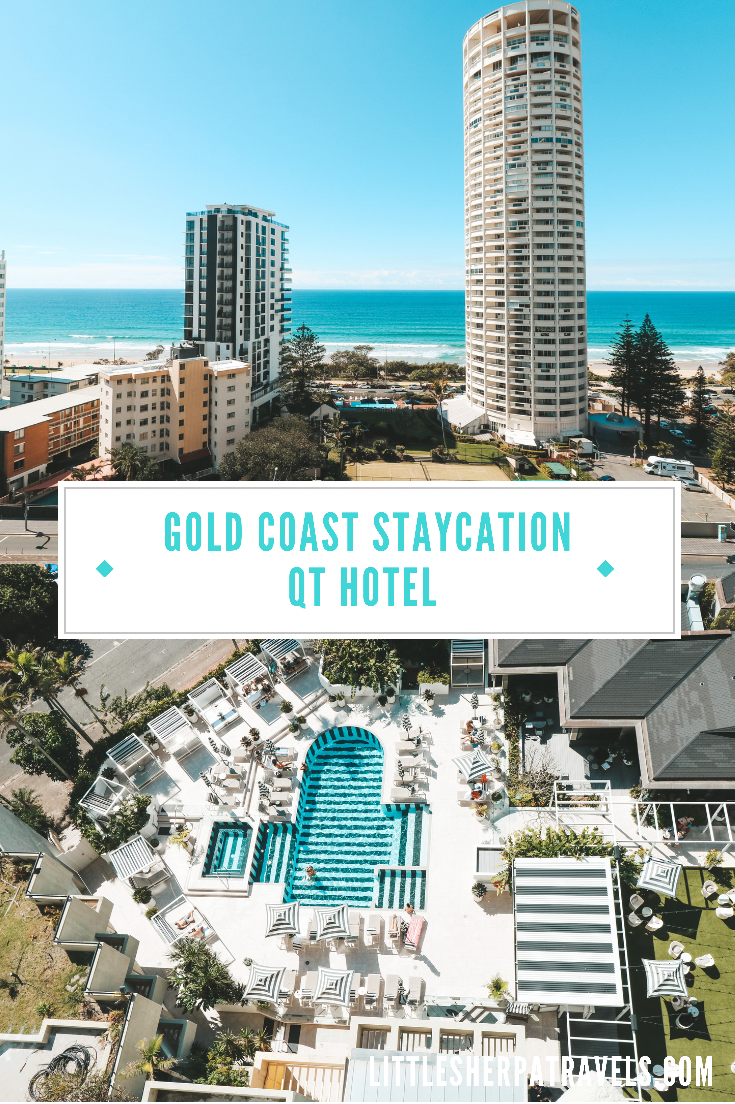 Best Gold Coast Staycations: QT Hotel Surfers Paradise