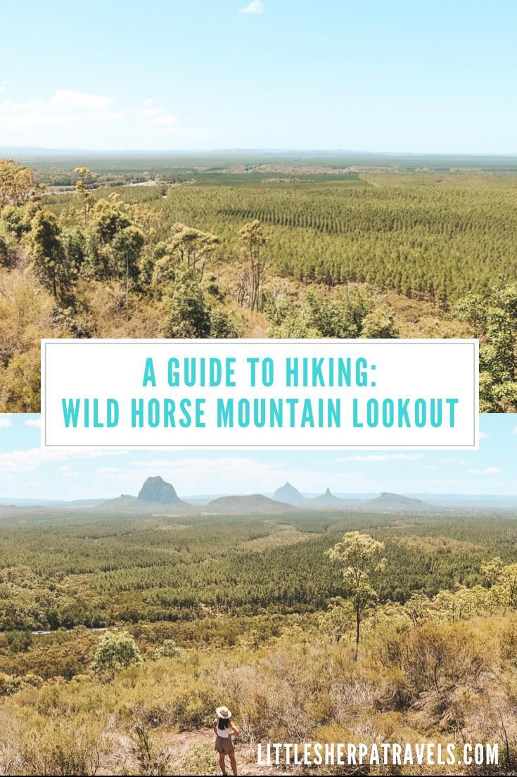 Wild Horse Mountain scenic lookout: Sunshine Coast
