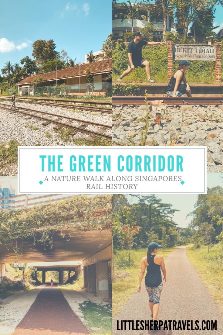 Walking guide to Singapore Green Corridor Greenway
