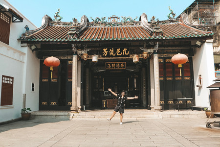 Georgetown penang temple