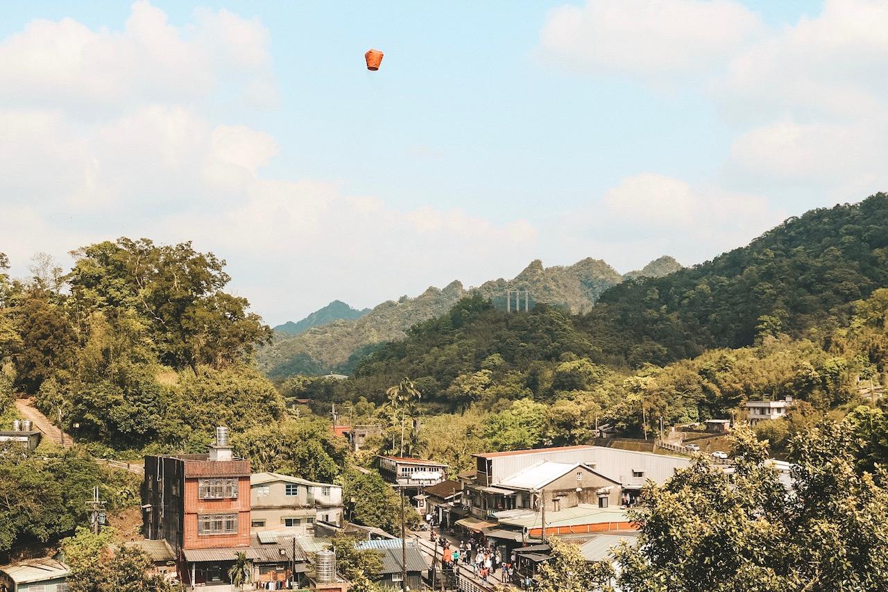 Pingxi Taiwan Lantern release taipei