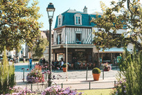 Deauville Normandy Fraance cafe