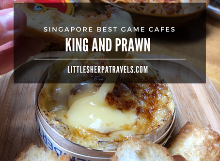 Singapore's best board game cafes: King and Prawn