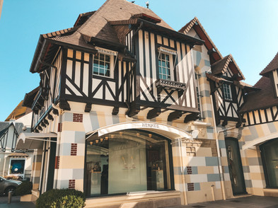 Deauville Normandy France hermes store