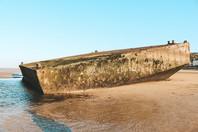 arromanches les bains beach