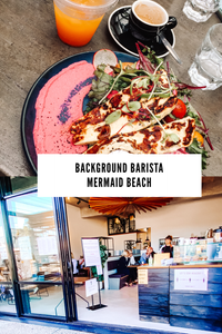 Background Barista Mermaid Beach Gold Coast