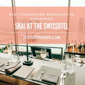 Best champagne buffet brunches in Singapore: SKAI Swissotel