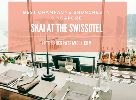 Best champagne buffet brunches in Singapore: SKAI Swissotel