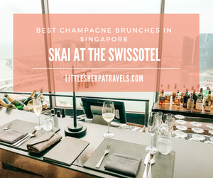 SKAI at the Swissotel The Stamford Singapore - Champagne buffet brunch blog review