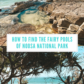 How to find the fairy rock pools at Noosa National Park (Within 12 minutes walk with maps and video)