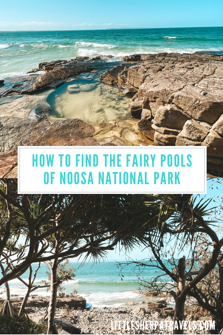 Fairy Rock Pools Noosa National Park sunshine coast queensland