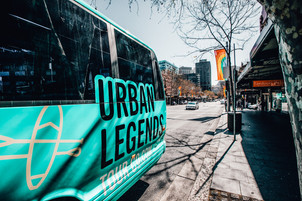 Urban Legends tour co bus day trips sydney