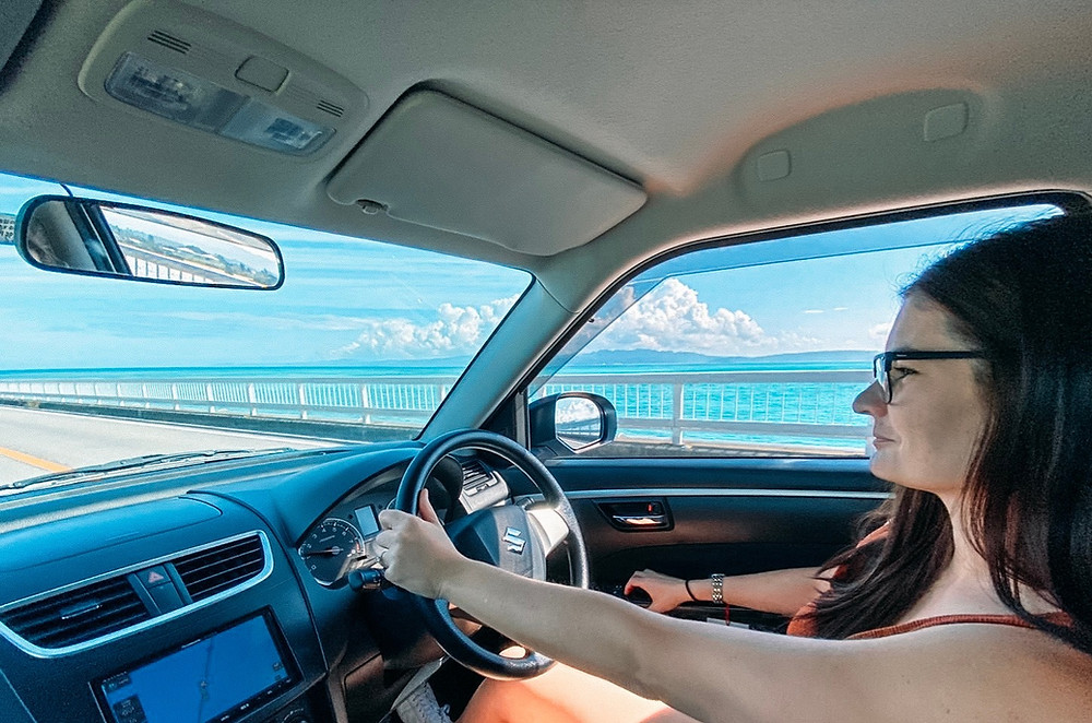 Okinawa Road Trip car rental Budget