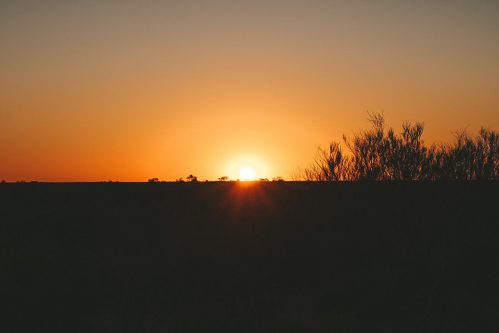 Sunrise Uluru Australia Northern Territory