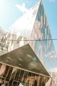 Manchester city Centre Emporio Armani building