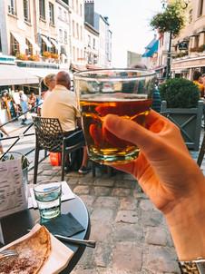 Honfleur Normandy France Apple cider