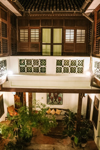 East Indies boutique Hotel Georgetown penang courtyard