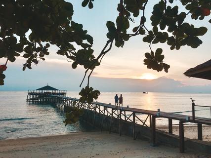 Japamala resort Tioman Island Malaysia jetty