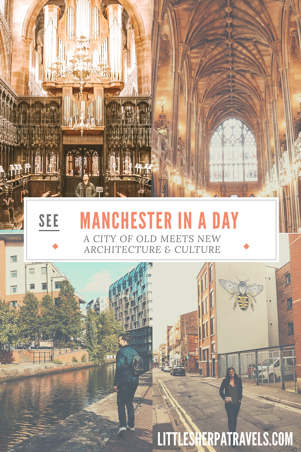 A travel guide to Manchester England in a day top things to see