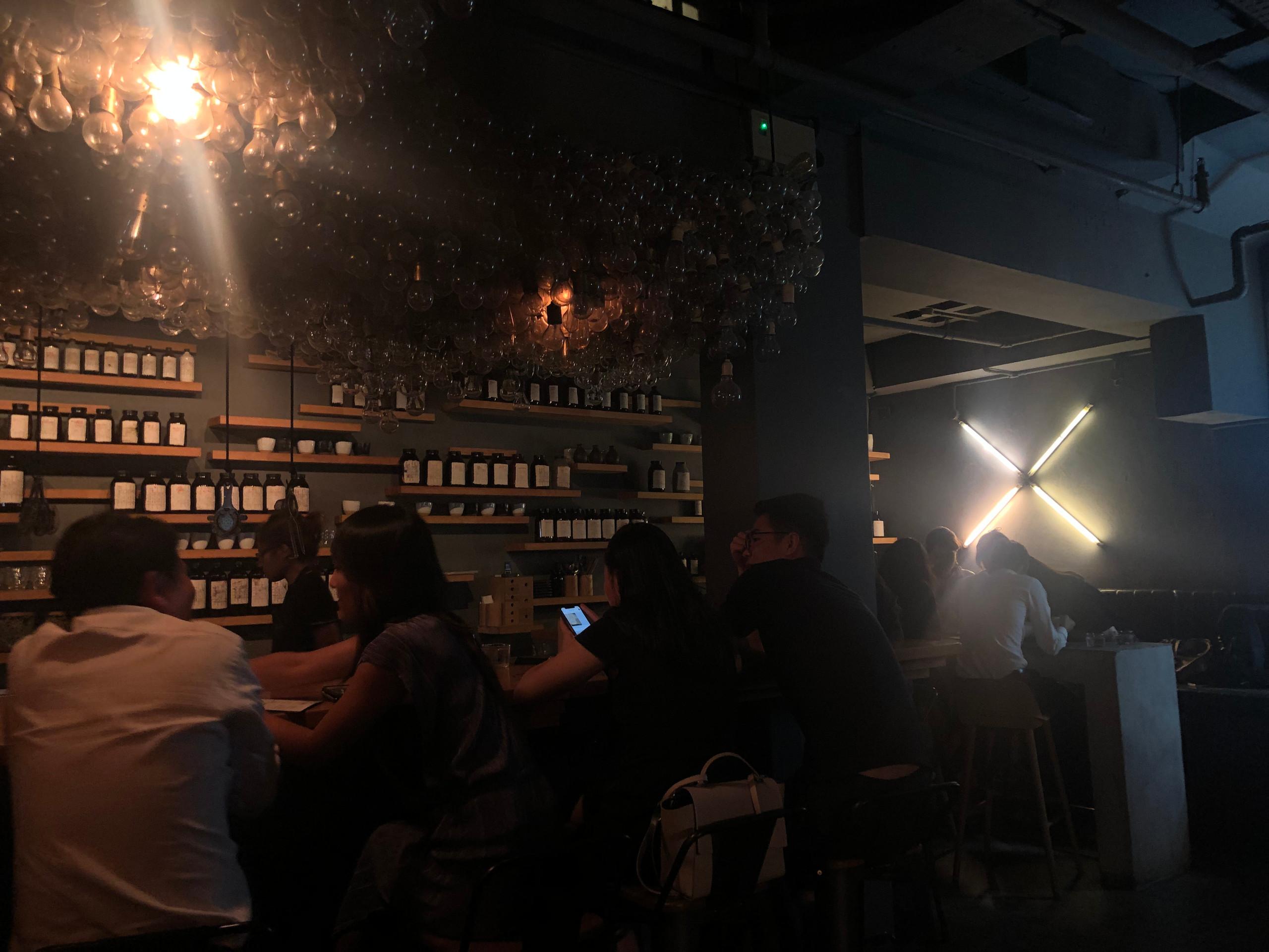 Operation Dagger Singapore hidden underground cocktail bar