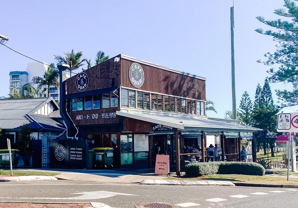 Cafe Dbah, Duranbah Beach, Gold Coast
