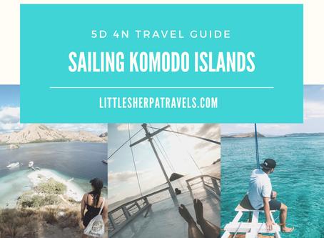 5D 4N Sailing Komodo National Park, Flores, Indonesia