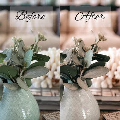 Before & After: Vintage Interior Preset Package