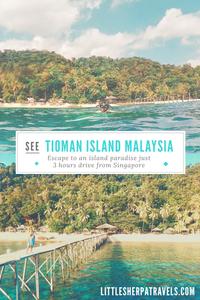 A weekend travel guide to Tioman Island Malaysia Japamala
