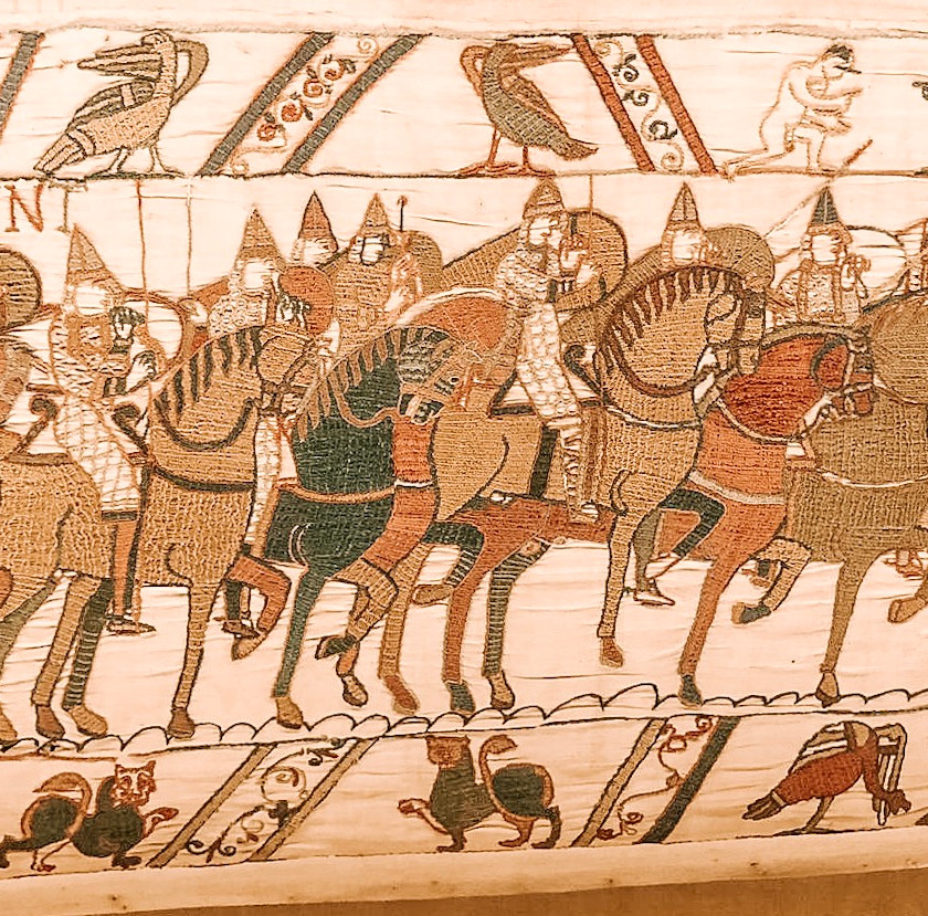 Bayeux normandy france tapesty meusum