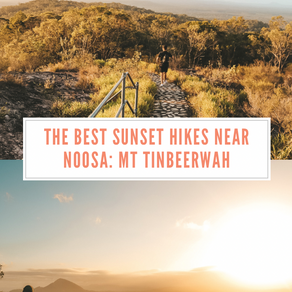 Where to find the best sunsets in Noosa: A guide to hiking Mt Tinbeerwah (with maps)