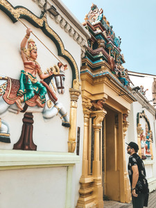 Georgetown penang hindu indian temple