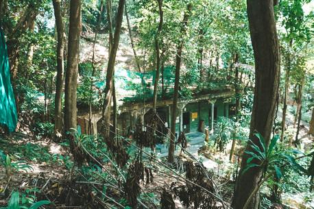 Penang War Museum Malaysia jungle army barracks
