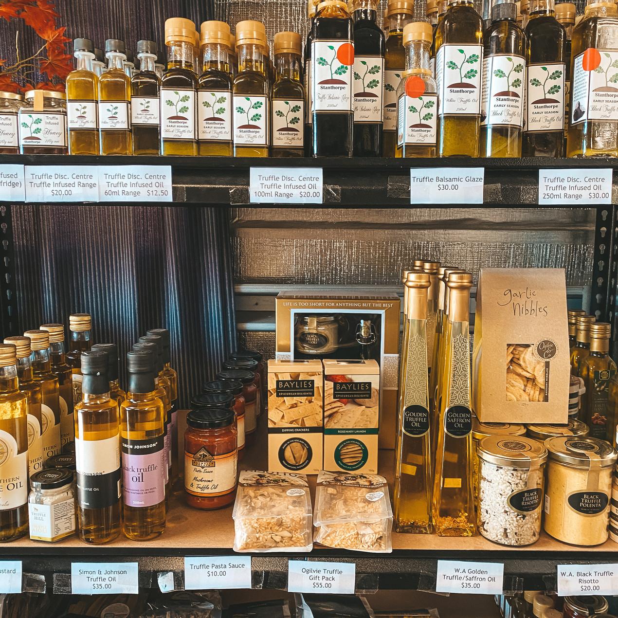 Stanthorpe truffle oils