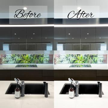 Before & After: Mobile Lightroom Presets Bright Interior