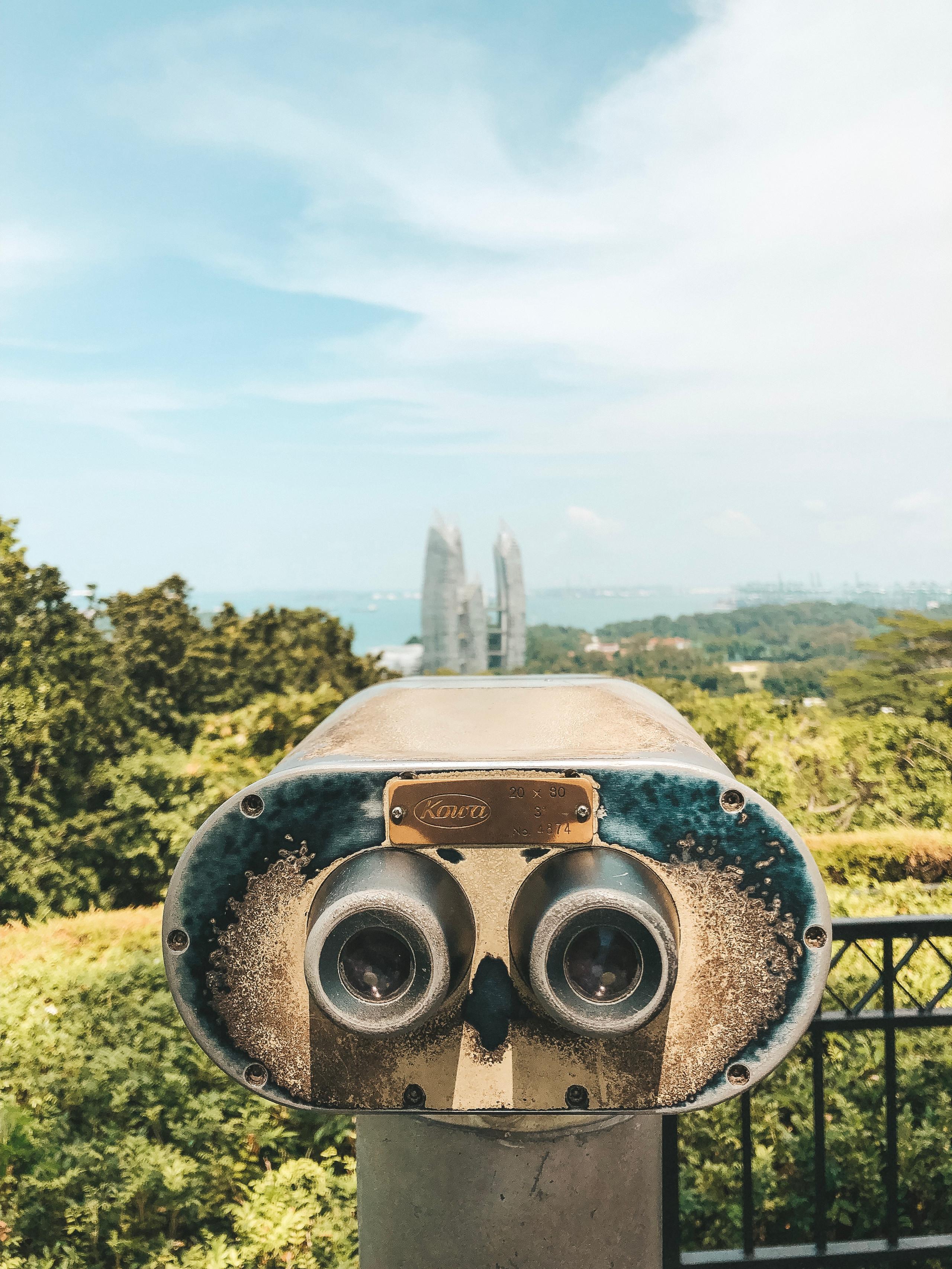 mount faber park lookout point southern ridges singapore