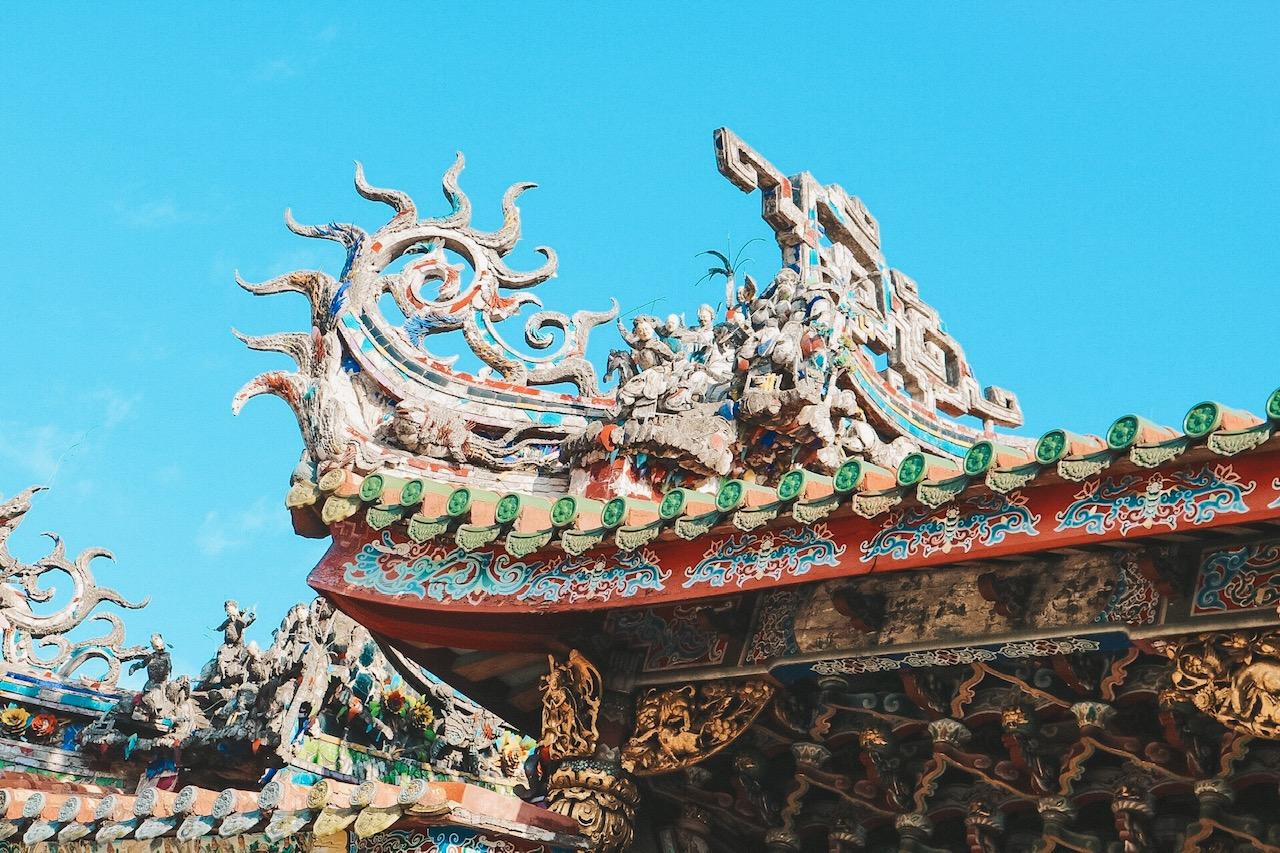 Longshan temple Taipei Taiwan