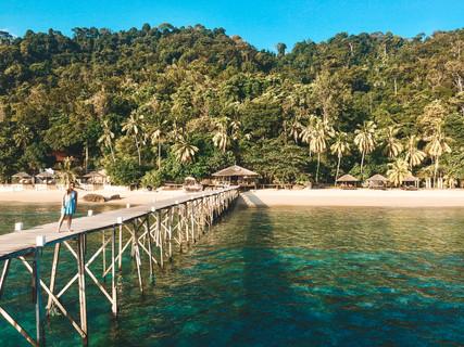 Japamala resort Tioman Island Malaysia