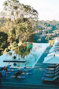 Alila Hotel Ubud where to stay infinity pool bali ubud