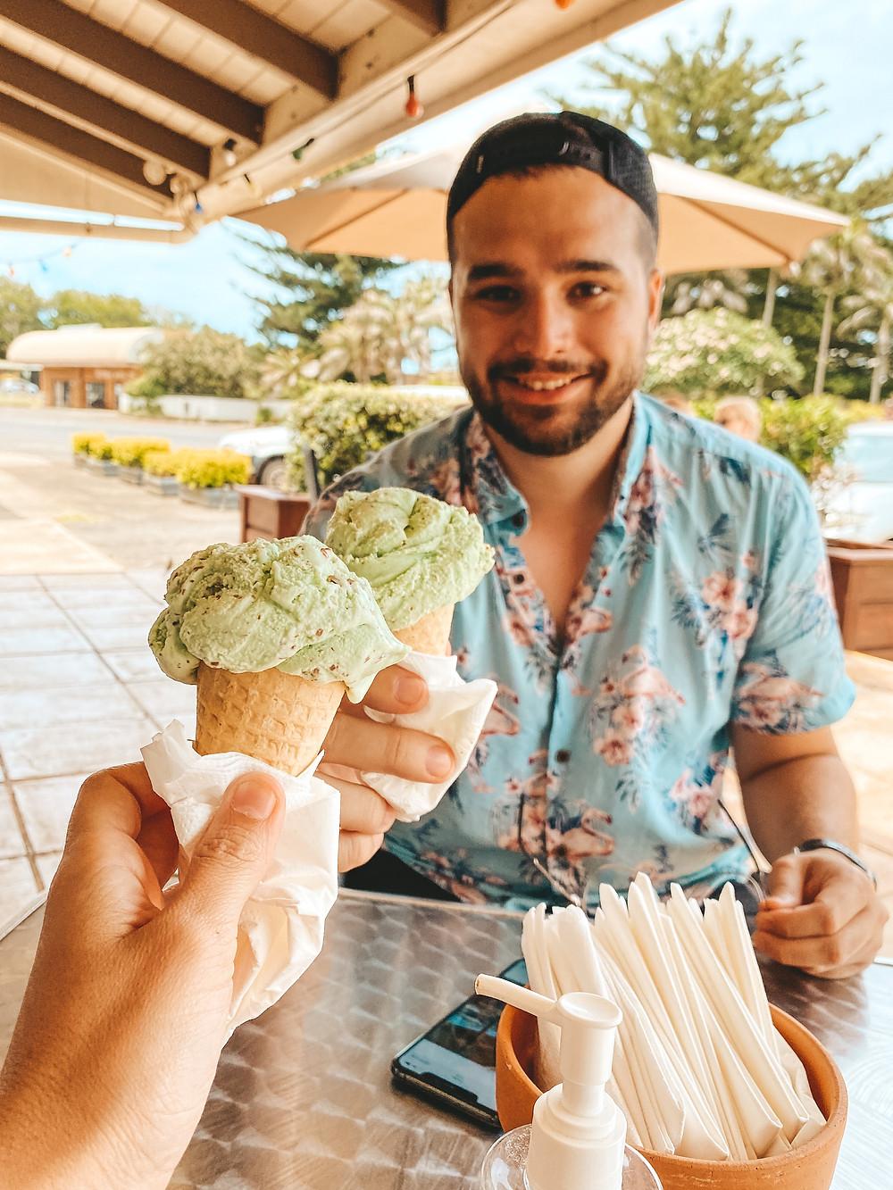 Homemade Ice-cream from Seriously Chocolate Norfolk Island