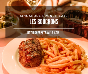 Les Bouchons Singapore River Valley French Restaurant steak and fries