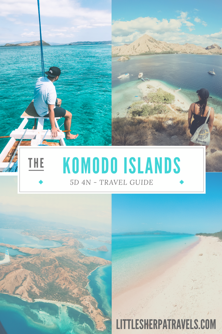 A travel guide for sailing the Komodo Islands Flores Indonesia 5 days 4 nights