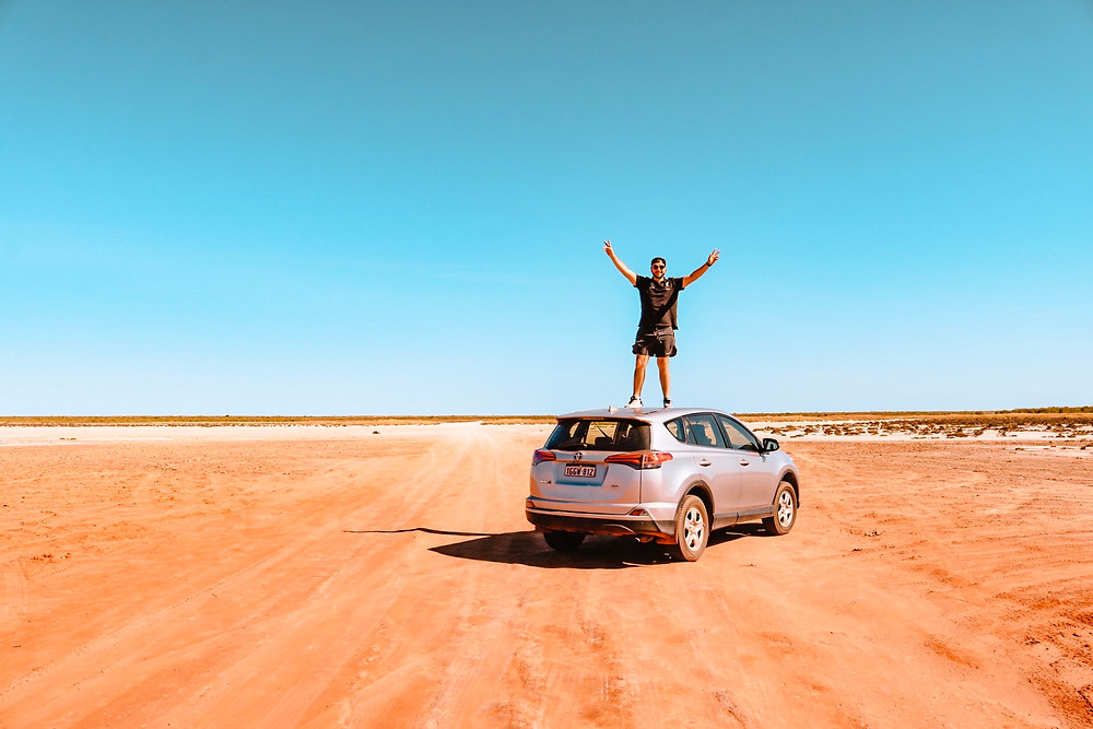 Renting a car in Broome Western Australia