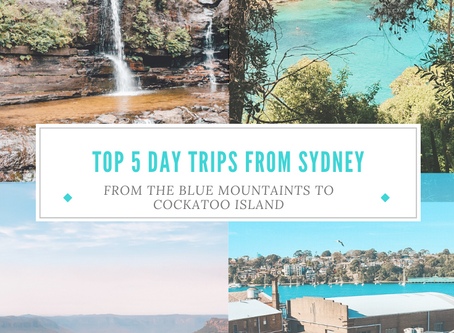 Top 5 Day trips in and around Sydney: From the Blue Mountains to Cockatoo Island