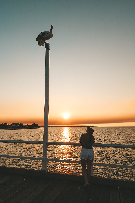 Sunset at Urangan Pier, Hervey Bay, QLD