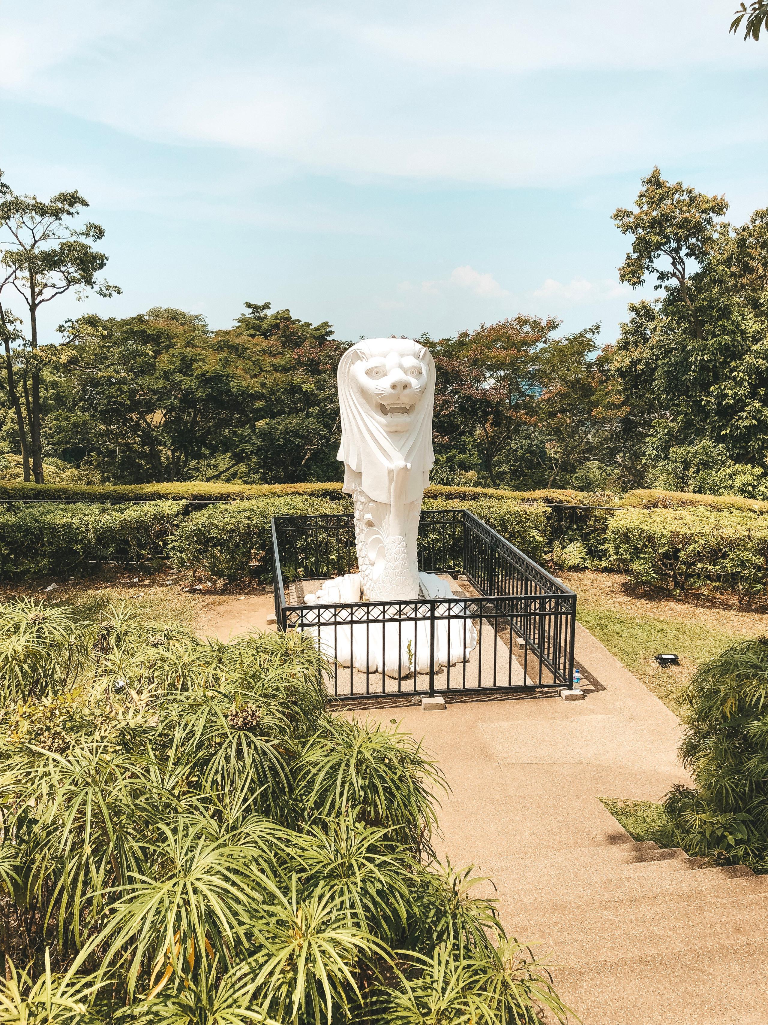 mount faber park merlion southern ridges singapore