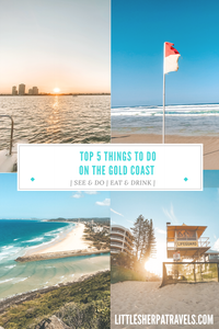 Top 5 best things to do on the Gold Coast Queensland Australia