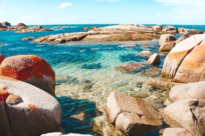 Binalong Bay Bay of Fires, Tasmania