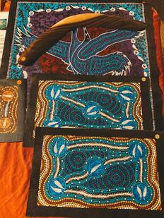 Mindil Beach night markets darwin aboriginal art