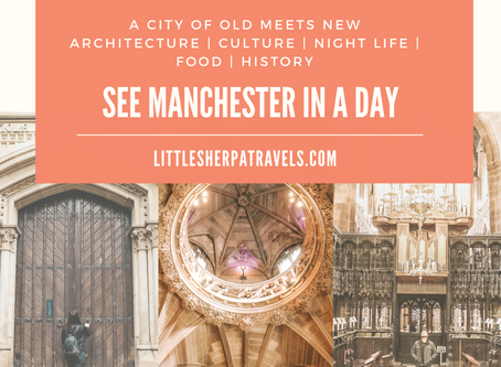 Top things to see in Manchester in a day