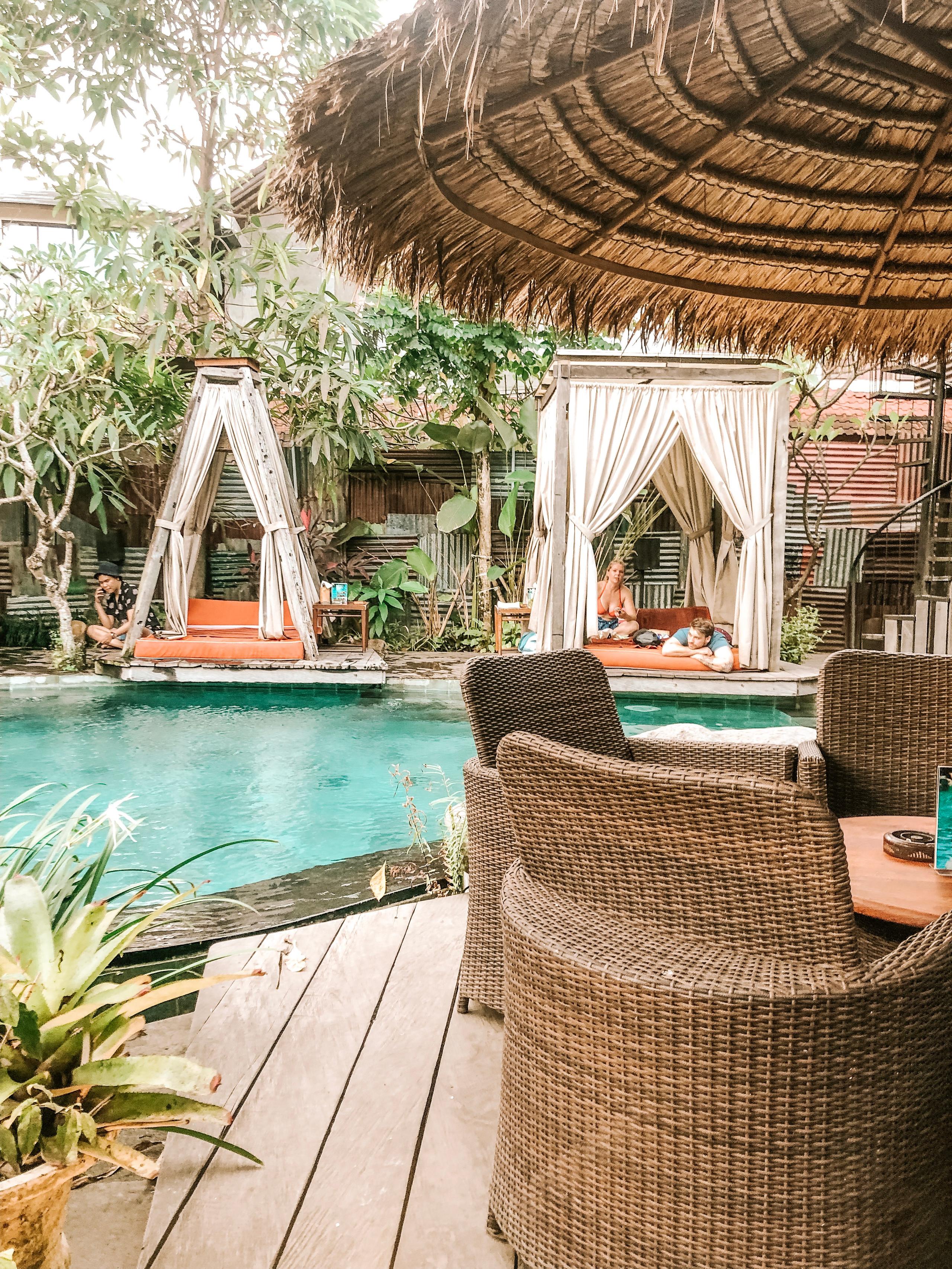 Folk Pool Bar Bali travel guide review blog Ubud Indonesia